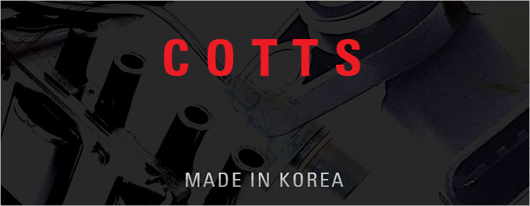 Korean brand COTTS