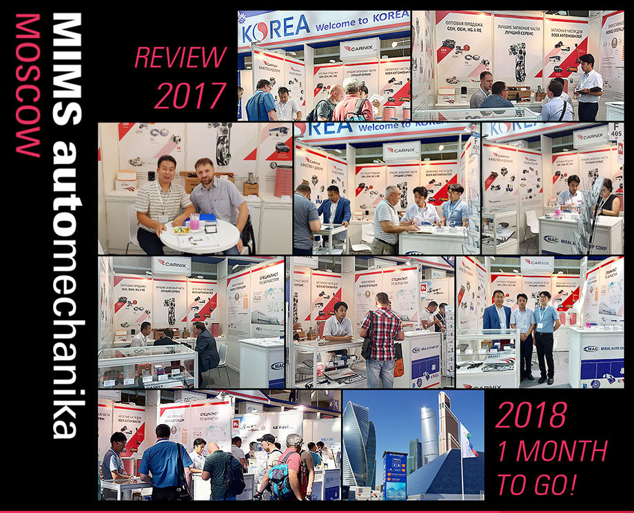 Review of MIMS Automechanika Moscow 2017