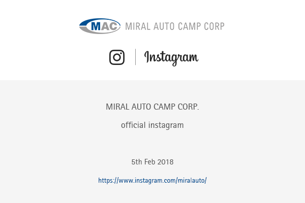 Miral Auto Camp Corp instagram