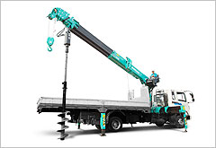 Everdigm Telescopic Cranes - Auger-Attached Crane